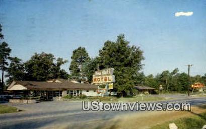 Pine Bluff Motel & Plantation Embers - Arkansas AR Postcard