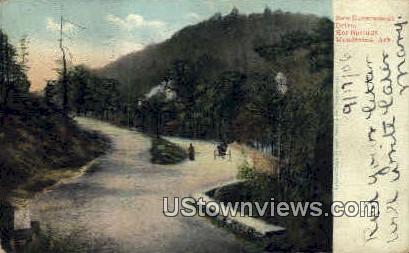Government Dr. - Hot Springs Mountains, Arkansas AR Postcard