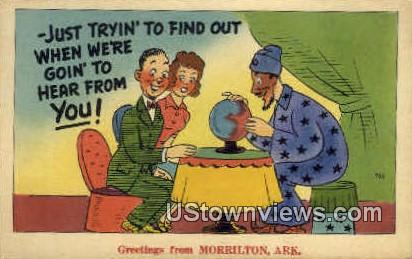 Greetings From - Morrilton, Arkansas AR Postcard