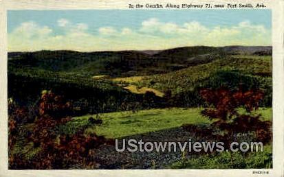 In the Ozarks - Fort Smith, Arkansas AR Postcard