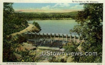 Spring Lake - Mt Magazine, Arkansas AR Postcard