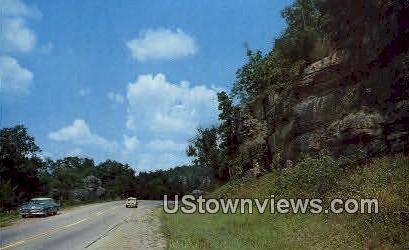 Highway 71 - Fort Smith, Arkansas AR Postcard