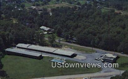 Hillcrest Motel & Restaurant - Pocahontas, Arkansas AR Postcard