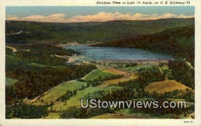 Lake Ft. Smith - Fort Smith, Arkansas AR Postcard