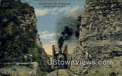 The Narrows - Eureka Springs, Arkansas AR Postcard