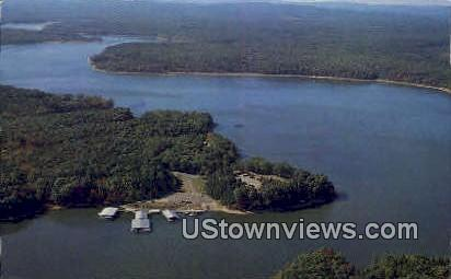 Denby Point Lodge - Mt Ida, Arkansas AR Postcard