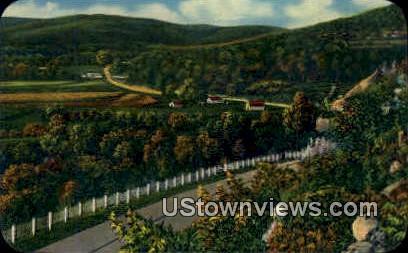 Mountainburg, Arkansas,   ;   Mountainburg, AK Postcard