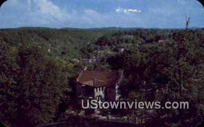 Kerns Memorial Church - Eureka Springs, Arkansas AR Postcard