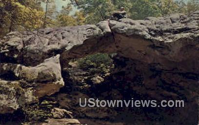 Natural Bridge - Eureka Springs, Arkansas AR Postcard