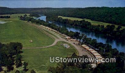 Al Gaston's White River Resort - Lakeview, Arkansas AR Postcard