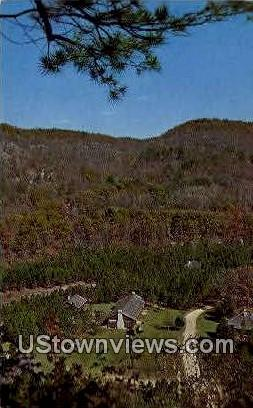 Blanchard Springs Recreation Area - Mountain View, Arkansas AR Postcard