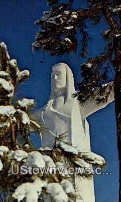 The Christ of the Ozarks - Eureka Springs, Arkansas AR Postcard