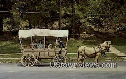 Bella Vista's Covered Wagon - Bella Vista Village, Arkansas AR Postcard