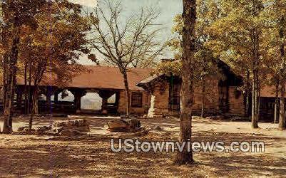 Mather Lodge - Morrilton, Arkansas AR Postcard