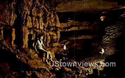 The Big Room, Spanish Treasure Cave - Gravette, Arkansas AR Postcard