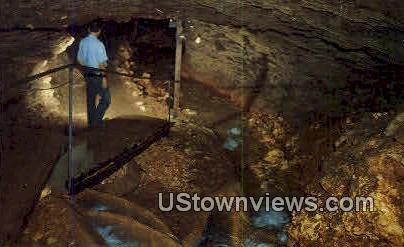 Civil War Cave - Bentonville, Arkansas AR Postcard