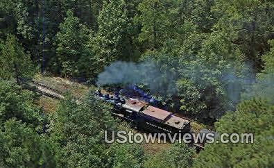 Reader Railroad - Arkansas AR Postcard