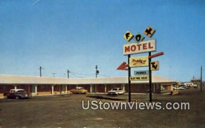 Fox Motel - Bald Knob, Arkansas AR Postcard