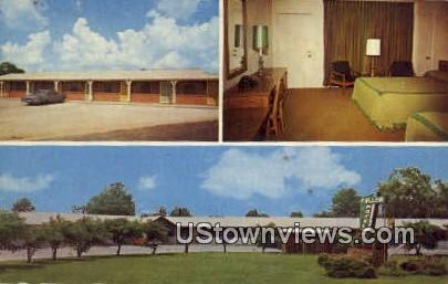 Fuller's Best Western Motel - Brinkley, Arkansas AR Postcard