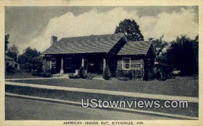 American Legion Hut - Blytheville, Arkansas AR Postcard