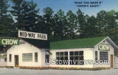 Mid Way Park - Boles, Arkansas AR Postcard