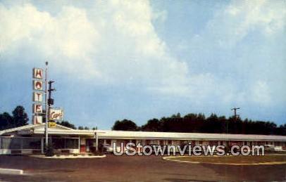 Motel Capri - Benton, Arkansas AR Postcard