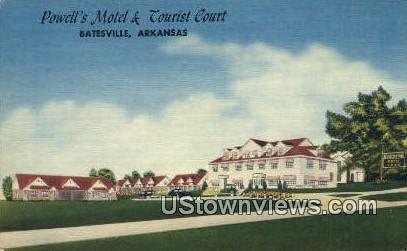 Powell's Motel & Tourist Court - Batesville, Arkansas AR Postcard