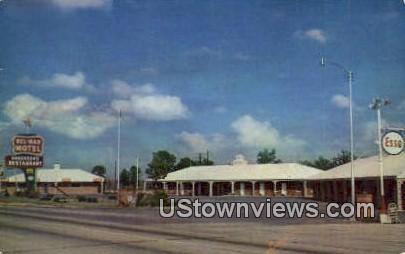 Bel mar Motel - Beebe, Arkansas AR Postcard