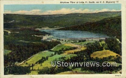 Lake - Fort Smith, Arkansas AR Postcard