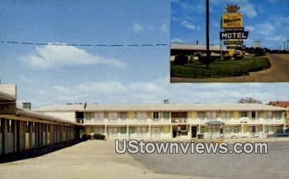 Townhouse Motel - Conway, Arkansas AR Postcard