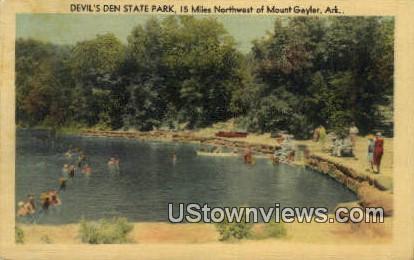 Devil's Den State Park - Mt Gayler, Arkansas AR Postcard