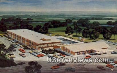 Frontier Motel - Dardanelle, Arkansas AR Postcard