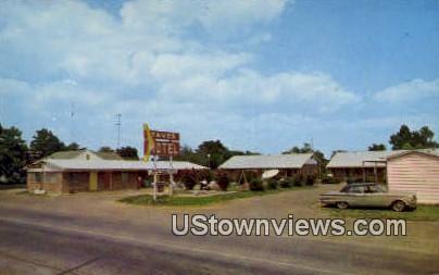 Tave's Motel - Murfreesboro, Arkansas AR Postcard