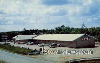 Riverview Motel - Mammoth Spring, Arkansas AR Postcard