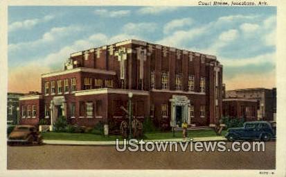 Court House - Jonesboro, Arkansas AR Postcard