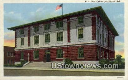 US Post Office - Jonesboro, Arkansas AR Postcard