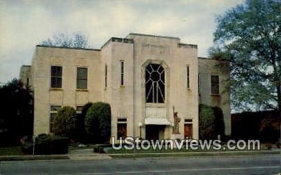 Library - Pine Bluff, Arkansas AR Postcard