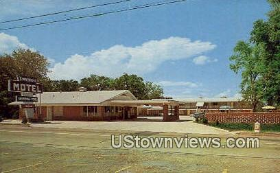 Town House Motel - Malvern, Arkansas AR Postcard