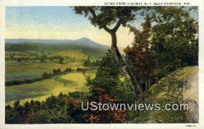 Highway no 7 - Harrison, Arkansas AR Postcard