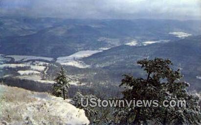 Blanchard Bluffs - Jasper, Arkansas AR Postcard