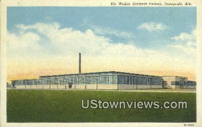 Ely Walker Garment Factory - Paragould, Arkansas AR Postcard