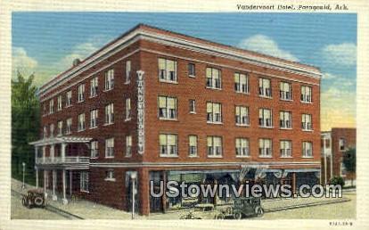 Vandervoort Hotel - Paragould, Arkansas AR Postcard