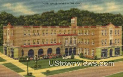Hotel Seville - Harrison, Arkansas AR Postcard