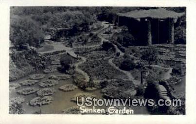 Reap Photo - Sunken Garden - Misc, Arkansas AR Postcard