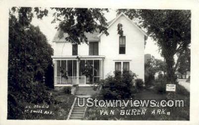Reap Photo - Home of Bob Burns - Van Buren, Arkansas AR Postcard