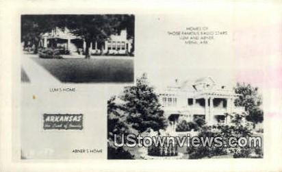 Reap Photo - Lum's Home - Mena, Arkansas AR Postcard