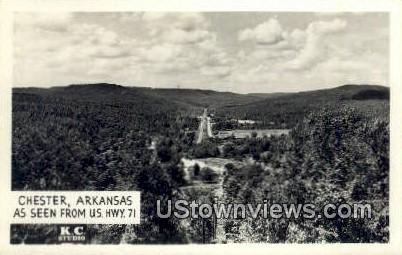 Real Photo -  - Chester, Arkansas AR Postcard