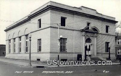 Real Photo - Post Office  - Arkadelphia, Arkansas AR Postcard