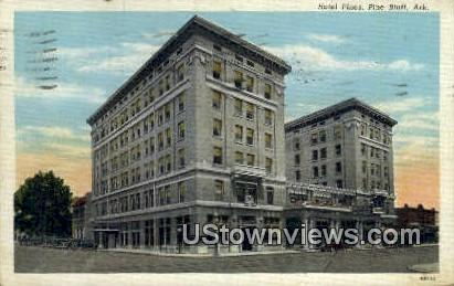 Hotel Pines - Pine Bluff, Arkansas AR Postcard