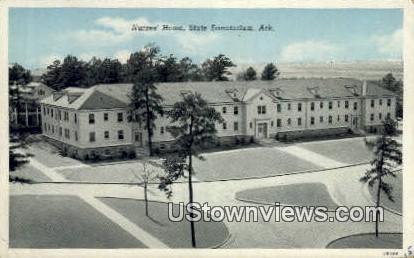 Nurses' Home - State Sanatorium, Arkansas AR Postcard